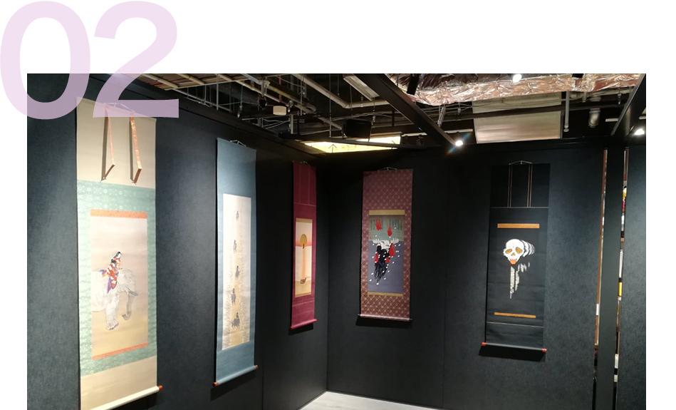 ギャラリー、展覧会